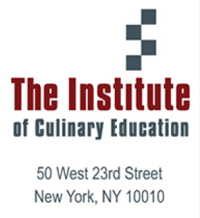 ICE Logo - Institute of Culinary Education - Between the Tines - Chef Diana Andrews