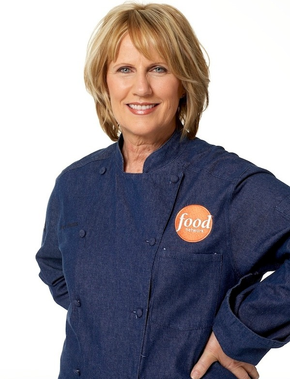 Susan Stockton - Food Network - interview by Chef Diana Andrews - Between the TInes