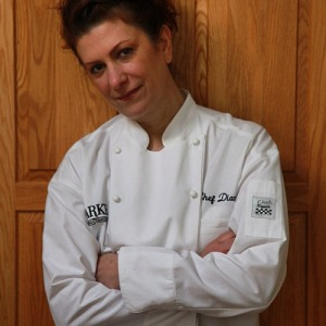 Chef Diana Andrews - in her whites