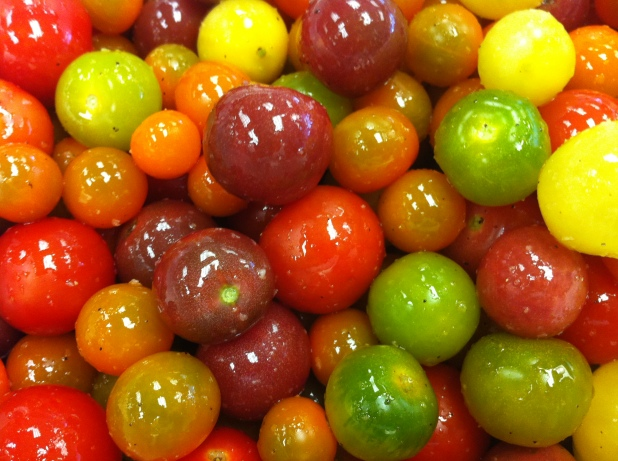 Between the Tines / Moveable Feast / Heirloom Cherry Tomatoes