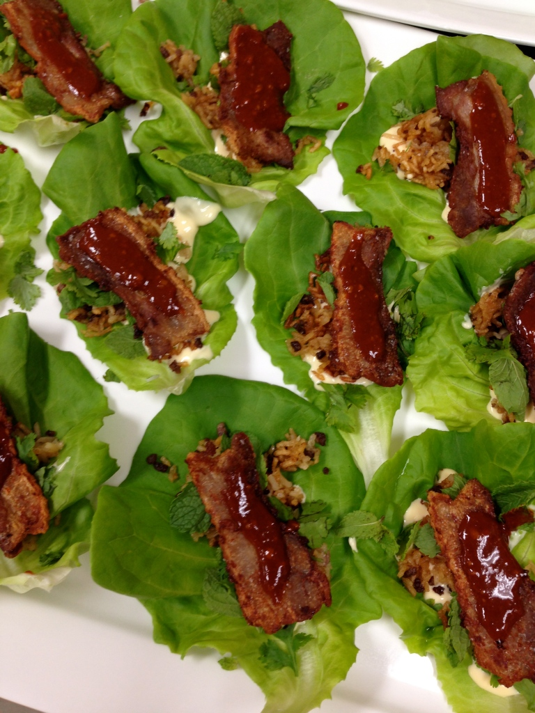 Korean Pork Belly Lettuce Wraps