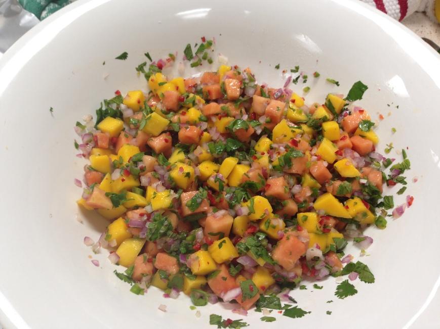 Papaya Salsa