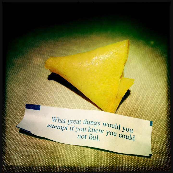 Food for thought - smart fortune cookie - between the tines