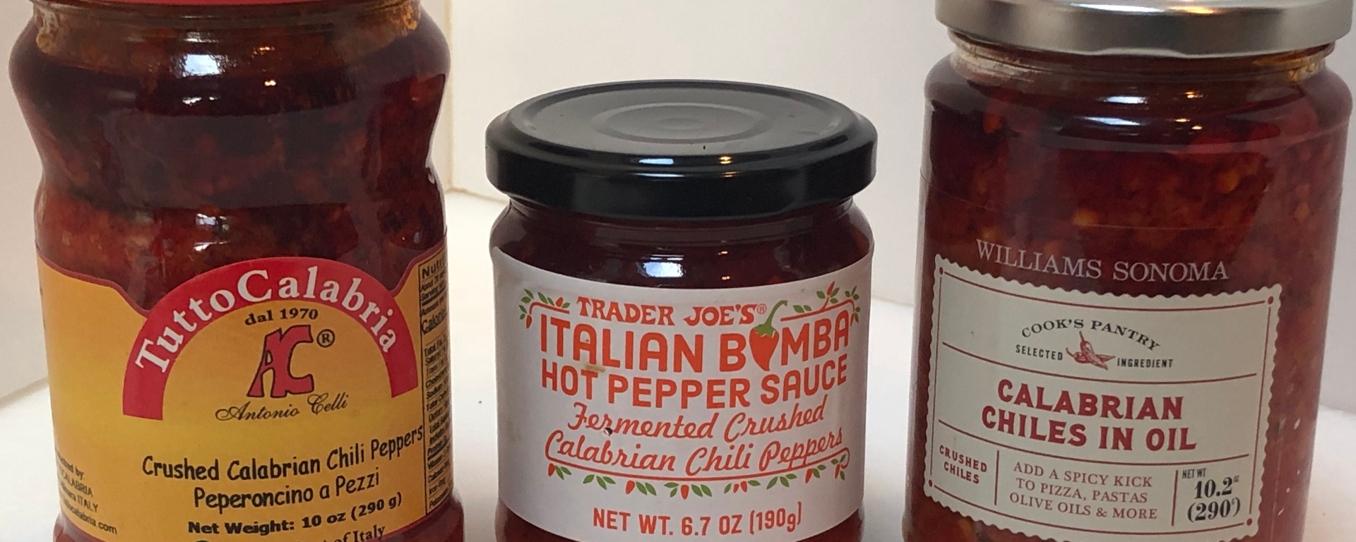 Calabrian Pepper Trio
